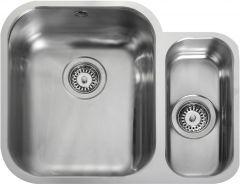 Rangemaster UB3515R/ Classic Undermount 1.5 bowl sink right hand drainer