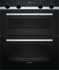 Siemens NB535ABS0B Built-under multifunction double oven