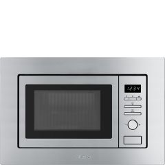 Smeg FMI017X Built-in microwave and grill