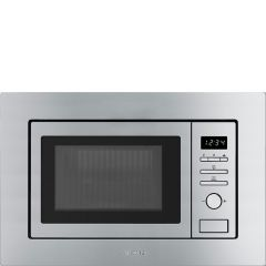 Smeg FMI020X Built-in microwave and grill