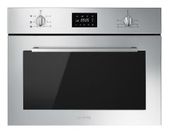 Smeg SF4400MCX Built-in combination microwave oven