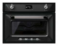 Smeg SF4920MCN1 Built-in Victoria combination microwave oven