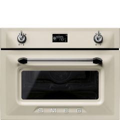 Smeg SF4920MCP1 Built-in Victoria combination microwave oven