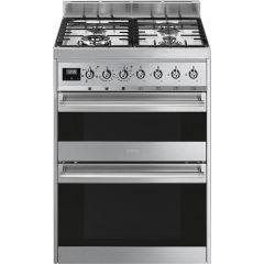 Smeg SY62MX9 60cm Symphony dual fuel cooker