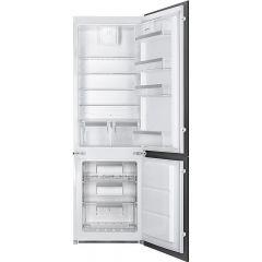 Smeg UKC7280NEP1 Built-in frost free fridge freezer