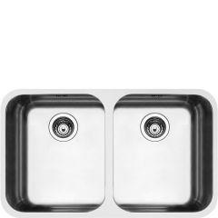 Smeg UM4545 Double bowl undermount sink