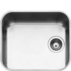 Smeg UM45 Single bowl undermount sink