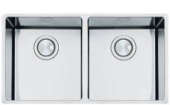 Smeg VSTR3434-2 Double bowl undermount sink
