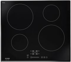 Stoves 444410186 SIH602TC Blk 60cm induction hob