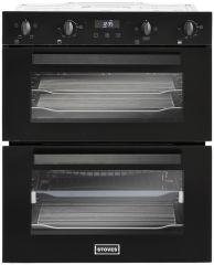 Stoves 444410212 BI702MFCT Blk Built-under double oven