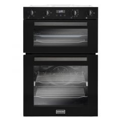 Stoves 444410217 BI902MFCT Blk Built-in multifunction double oven