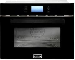 Stoves BI45COMW Blk Built-in combination microwave oven