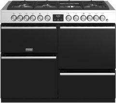 Stoves PRECISION DX S1100DF SS 110cm dual fuel range cooker