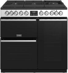 Stoves PRECISION DX S900DF GTG S 90cm dual fuel range cooker