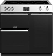 Stoves PRECISION DX S900Ei SS 90cm induction range cooker