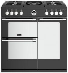 Stoves 444410806 STERLING S900G BK 90cm gas range cooker