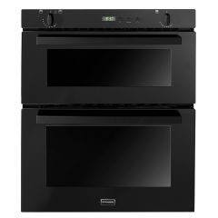 Stoves SGB700PS Blk Built under gas double oven