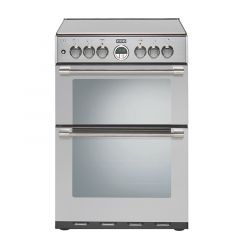 Stoves STERLING600DF Blk 60cm `mini range` dual fuel cooker