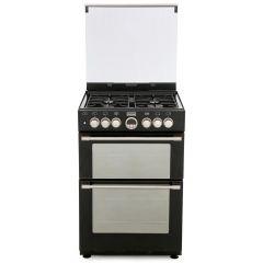 Stoves 444440990 STERLING600DF Blk 60cm `mini range` dual fuel cooker