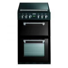 Stoves RICHMOND550DFW Blk 55cm `mini range` dual fuel cooker
