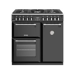 Stoves RICHMOND S900DF BK 90cm dual fuel range cooker