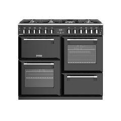 Stoves RICHMOND S1000DF BK 100cm dual fuel range cooker