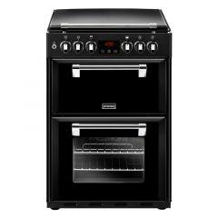 Stoves 444444723 RICHMOND600DF Blk 60cm dual fuel cooker
