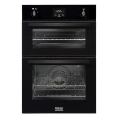 Stoves BI900G Blk Built-in gas double oven