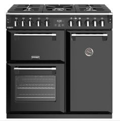 Stoves RICHMOND DX S900DF BK 90cm dual fuel range cooker