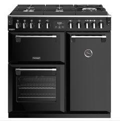 Stoves RICHMOND DX S900DF GTG BK 90cm dual fuel range cooker