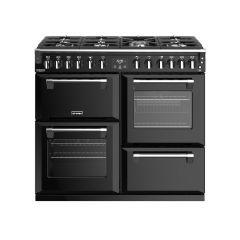 Stoves RICHMOND DX S1000DF BK 100cm dual fuel range cooker