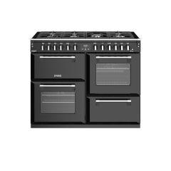 Stoves RICHMOND DX S1100DF BK 110cm dual fuel range cooker