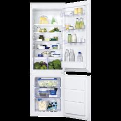 Zanussi ZBB28651SV Built-in frost free fridge freezer