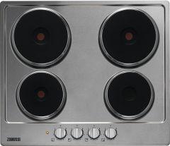 Zanussi ZEE6942FXS 60cm solid plate hob