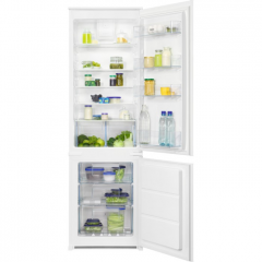 Zanussi ZNHN18FS1 Built-in frost free fridge freezer