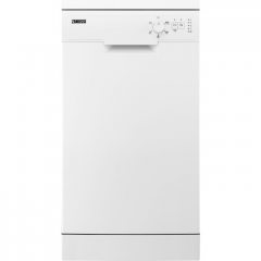 Zanussi ZSFN131W1 45cm slimline dishwasher